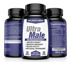 Best Fast-Acting Ultra Male Enhancing Booster Increase Size Drive Stamina - $96.99