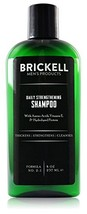 Brickell Men's Daily Strengthening Shampoo for Men - Natural & Organic Featuring