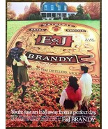 1982 E&J Brandy PRINT AD You're Just An E&J Away From a Perfect Day - $11.69