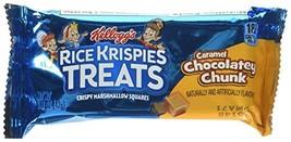 Kellogg's Rice Krispies Treats Caramel Chocolatey Chunk Treats Twenty 1.... - $36.86