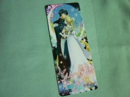 Sailor moon bookmark card sailormoon Crystal couple Princess Usagi Endymion (B) - $6.00