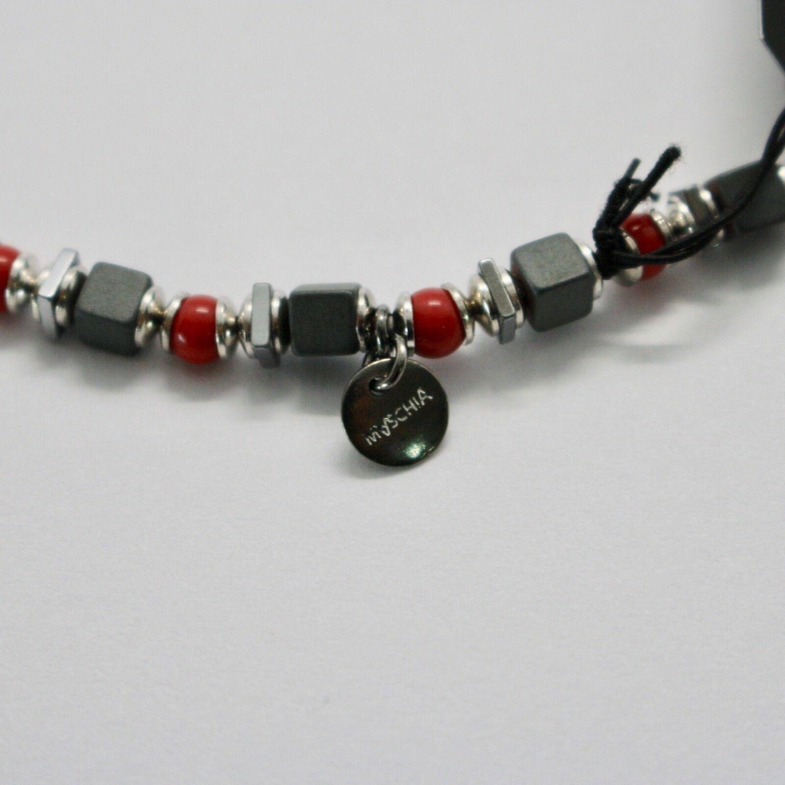 Bracelet en Argent 925 Rubis Zoïsite Corail BPAN-13 Fabriqué Italie By Maschia image 7