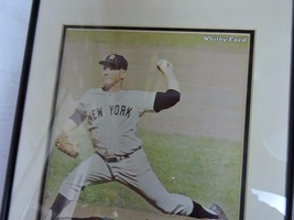 """Whitey Ford NY Mets Autograph Framed Picture 11""""x14"""" Frame - $24.74"""