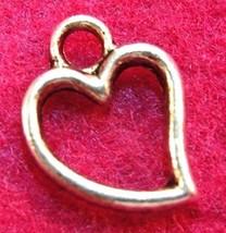 100Pcs. Wholesale Tibetan Silver Open Heart Charms Pendants Earring Drop... - $38.59