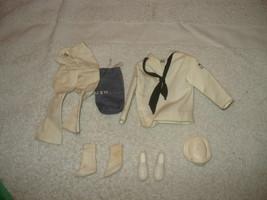 Vintage 1960s Barbie Ken Doll Sailor US Navy Cloths Outfit complete - $49.49