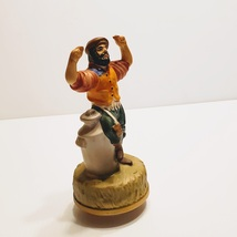 Vintage Fiddler on the Roof MUSIC BOX Ceramic Chadwick Miller Sankyo Jap... - $20.00