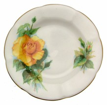 Roslyn Wheatcroft Roses 6.25 InchMme Ch Sauvage Plate - $15.42