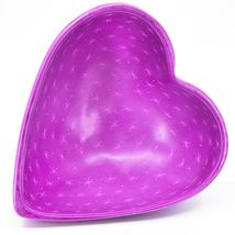 Vaneal Group Hand Carved Kisii Soapstone Fuchsia Pink Heart Decorative Bowl  image 3