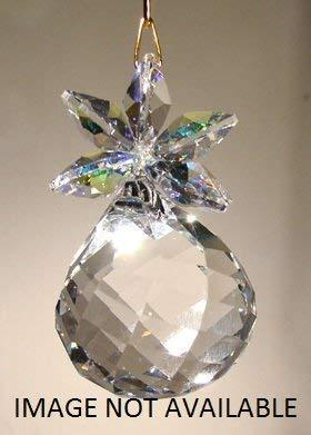 AB and Light Peridot Crystal Pineapple Ornament