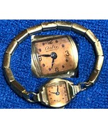 Vintage Astra Swiss 17 Jewel Ladies Wristwatch Les Fils de Paul Schwarz-... - $20.69