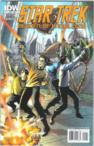 Primary image for Star Trek Burden of Knowledge Comic Book #1 Cover A IDW 2010 NEAR MINT UNREAD