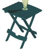 Miles Kimball Green Outdoor Folding Side Table - $35.00