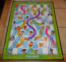 Chutes And Ladders Replacement Game Board Milton Bradley - $5.00