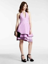 Halston HALTER COLOR BLOCKED STRUCTURED DRESS, Size 2, $425, NWT - $85.16