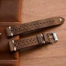 Uhr Ersatz Armband Gürtel Echtes Leder Uhrenarmband Vintage Uhr Zubehör - $16.12