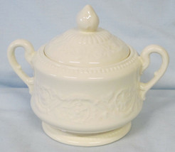 Wedgwood Embossed Patrician Sugar Bowl with Lid - $39.49