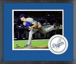 Walker Buehler 2018 Los Angeles Dodgers -11x14 Team Logo Matted/Framed P... - $43.95