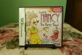 Fancy Nancy: Tea Party Time (Nintendo DS, 2010)  VG Condition - $8.90