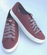 Keds WF60470 Women's Kickstart Solid Sport Burgundy Size 10 - $54.44
