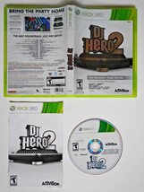 DJ Hero 2 II [Microsoft Xbox 360 2010] create music singing COMPLETE - G... - $6.86