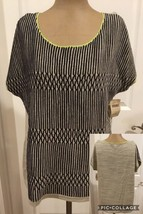 NEW! Coldwater Creek Ladies Knit Top  Large (14) 76% Cotton 24% Nylon Re... - $9.89