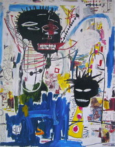"""Jean Michel Basquiat """"ISBN"""" NEW HD print on canvas large wall picture 36... - $25.73"""