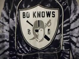 Post Game Bo Jackson Bo Knows Tie Dye 3M Raiders Hoodie Hooded Sweatshir... - $49.99