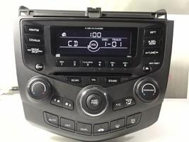 "03-07 Honda Accord Radio 6 Disc Player With Code . 7BK0  ""HO314A""  - $183.40"