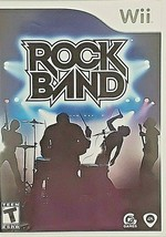 Wii Rock Band MTV Games EA Rated T Teen 2008 Gently Used Excellent Condition - $12.77