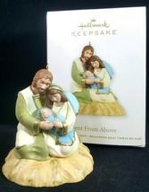 Christmas Ornament Hallmark Keepsake Sent From Above Nativity Mary Baby Jesus - $8.16