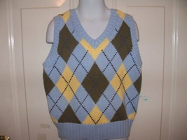 Lands' End Light Blue Vest Size Small 7/8 Boy's NWOT - $16.80