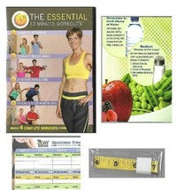 The Essential 12 Min Workouts DVD 7 Day Slimdown Diet w/ Shopping List &... - $14.84