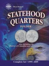Official Whitman Statehood Quarters Folder Complete 50 State Set + Terri... - $6.24