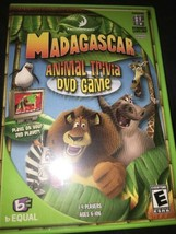 Madagascar Animal Trivia Dvd Game - $14.58
