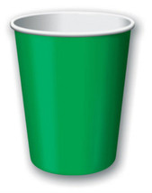 Emerald Green 9oz Party Cups (24) - $7.99