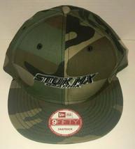 Stuk Mx Graphix New Era 9 Fifty Snap Back Camo Hat Mens OSFM - £10.01 GBP
