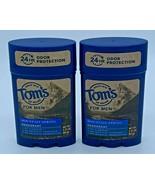 2 Tom's of Maine Men's Long Lasting Deodorant, Mountain Spring Exp 9/21 - $19.79