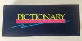 Pictionary 1993 Western Publishing Vintage Board Game Updated for the 90's - $25.23