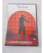 Tai Chi For a Healthy Lifestyle DVD Arthur Rosenfeld New - $4.95