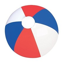 Set of Six (6) Inflatable Patriotic Beach Balls 16 / Party Favor/ 4th of... - £28.00 GBP