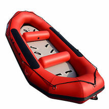 BRIS 13ft Inflatable River Raft 6 Person White Water Rescue Raft FloatingTubes image 7