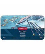 Derwent Colored Pencils, Inktense Ink Pencils, Drawing, Art, Metal Tin, ... - $73.05