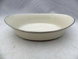 """Lenox Solitaire pattern - large Oval Vegetable serving bowl - 10 1/4"""" long - New - $24.26"""