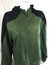Glaciers Edge Men Green Black Zip Up Hoodie Long Sleeve Comfortable  Siz... - $13.98