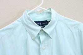Ralph Lauren Men's CLASSIC FIT Short Sleeve Shirt Size M-Button down collar - $18.69