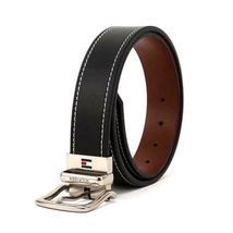 Tommy Hilfiger Men's Reversible Contrast Stitching Leather Belt 11TL08X009 image 4