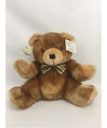 "Brown Plush Teddy Bear Dan Dee Collector's Choice 11"" with Tag Stuffed A... - $17.64"