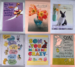 HALLMARK Easter Holiday Spring Cards Many Styles Family Son Wife Humor Teen - $2.99
