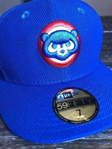 "Chicago Cubs New Era MLB Royal Cub Head Diamond Era 59FIFTY OSFA 7"" Hat - $37.13"