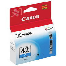 .Canon 6385B002 CLI-42C Cyan Ink Cartridge For Pixma Pro-100 - $31.63